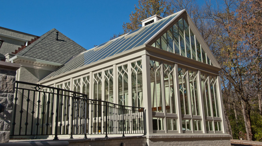 gothic gable conservatory