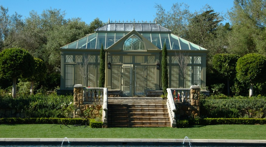 free-standing conservatory