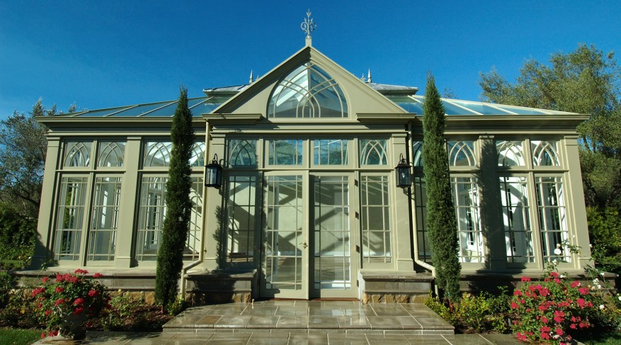 conservatory landscaping