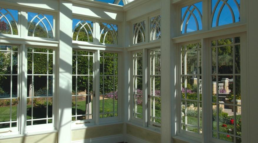 garden house glazing pattern