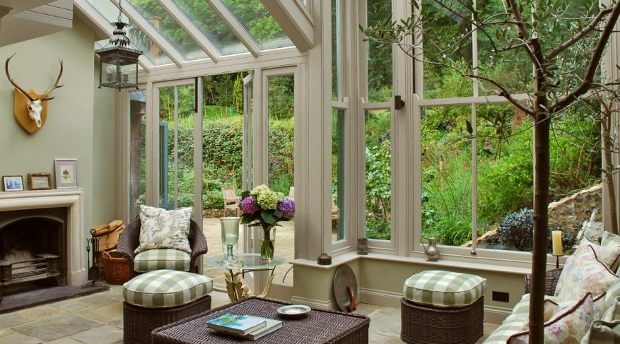 lean to gable conservatory