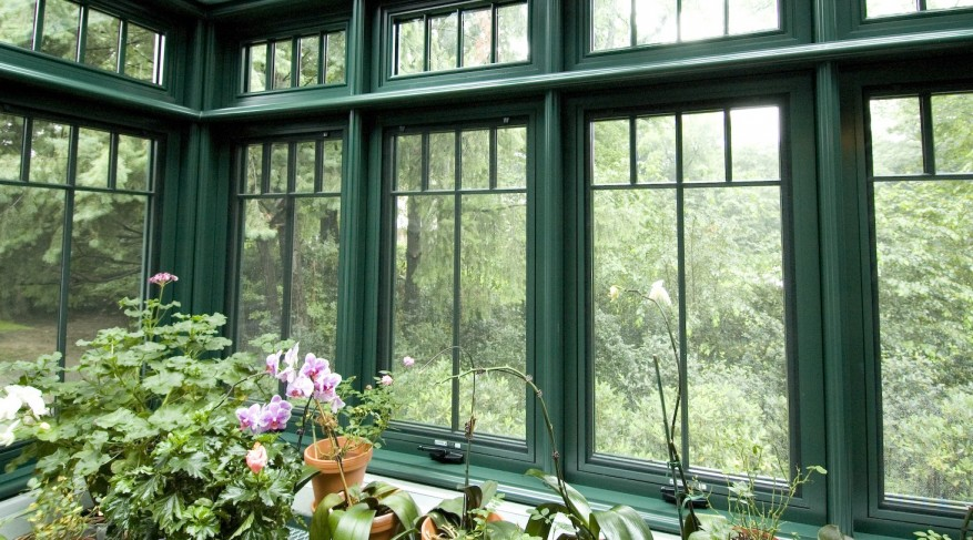 greenhouse casement windows