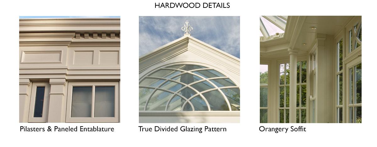 hardwood conservatory details