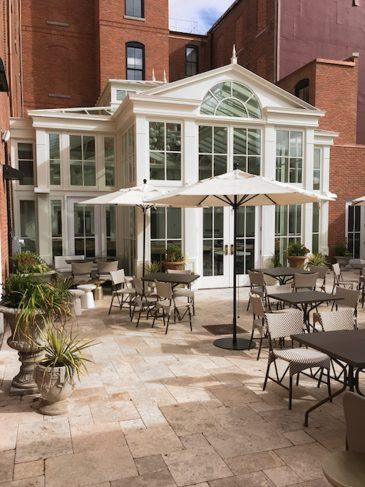 adelphi conservatory patio