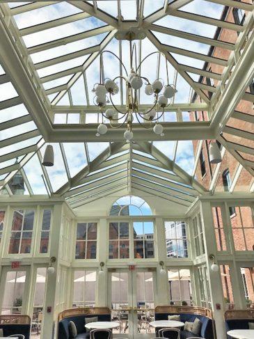 adelphi conservatory interior