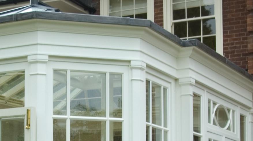 bay corner pilasters