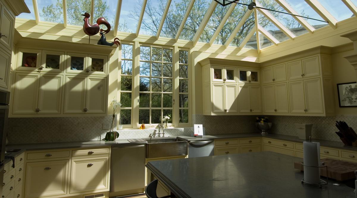 conservatory kitchen design