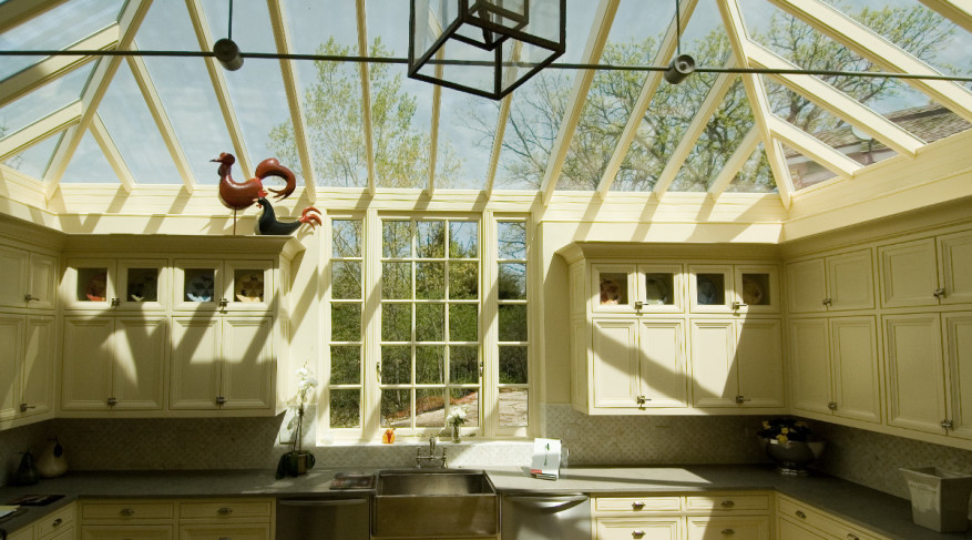kitchen skylight roof