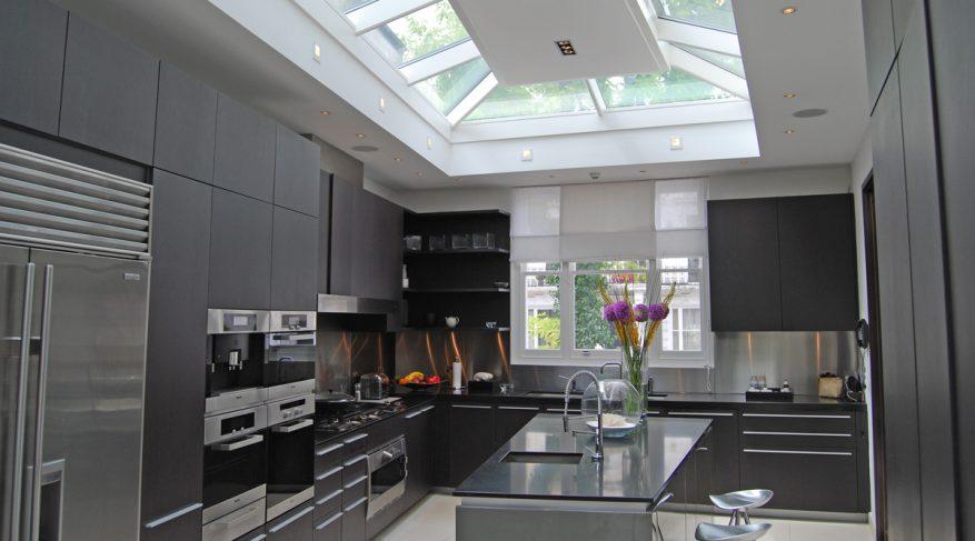 italian kitchen skylight