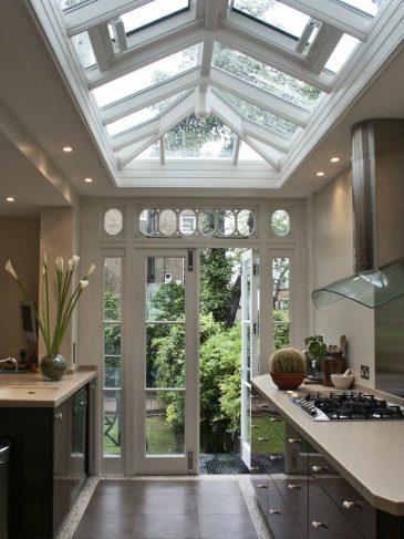 galley kitchen roof lantern