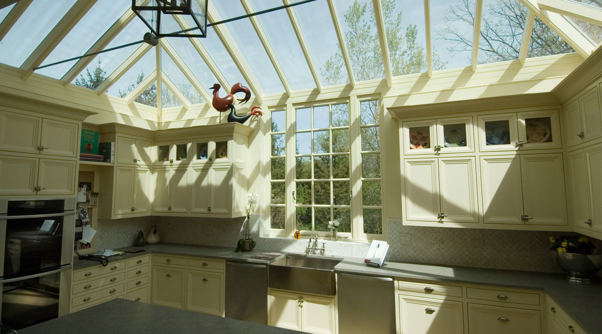 kitchen roof lantern