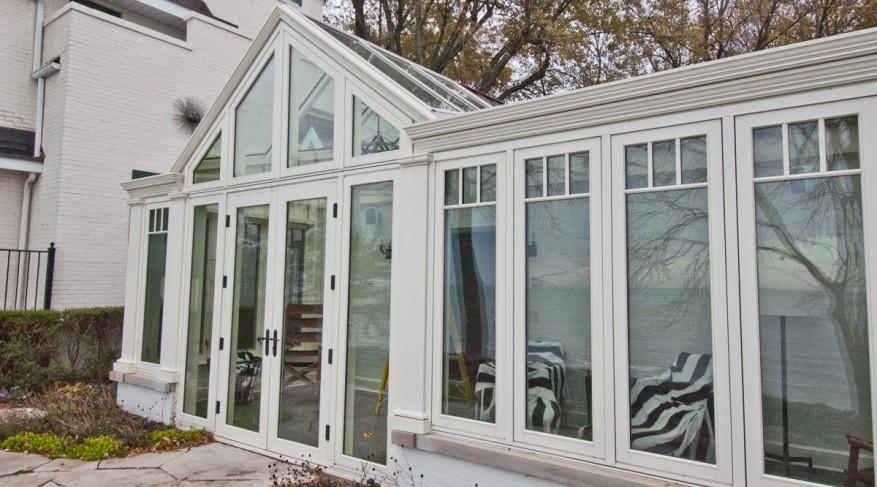 aluminum conservatory