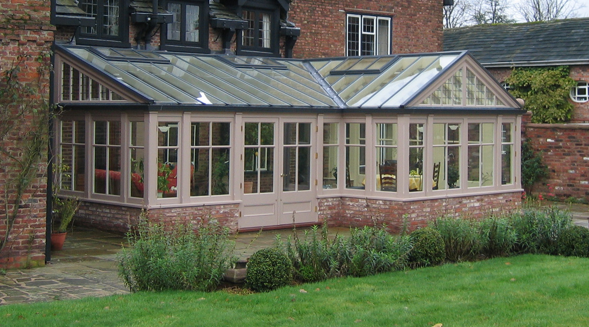 windows in conservatory design
