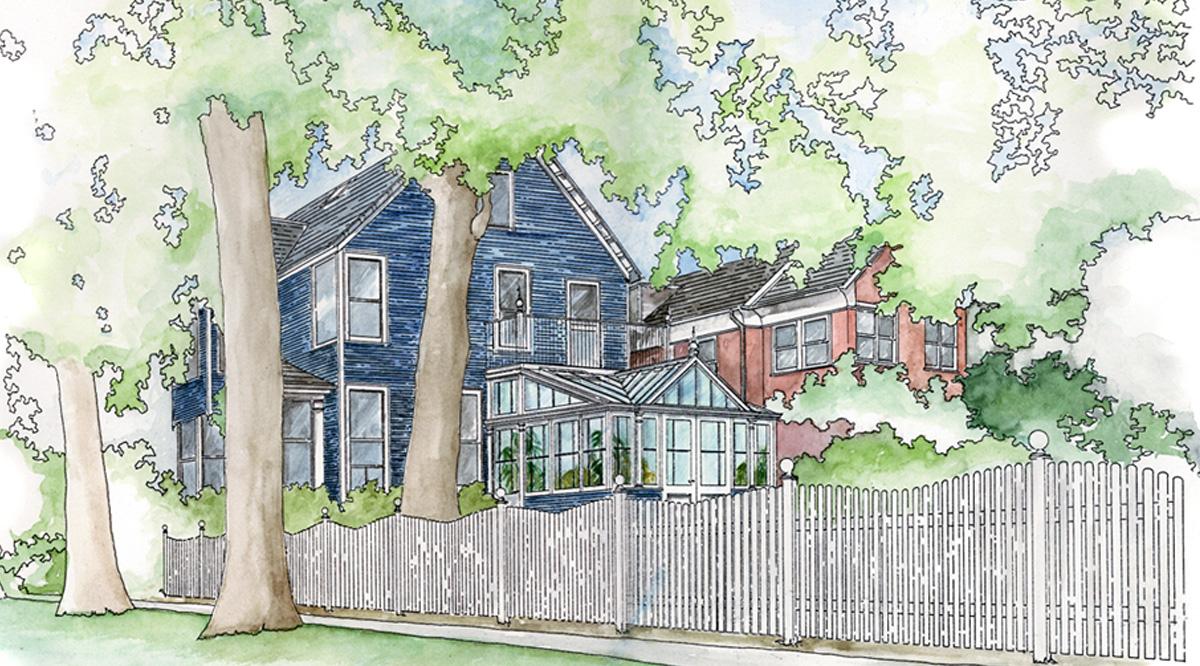 conservatory sketch
