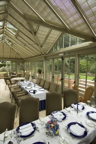 Morston Hall dining conservatory
