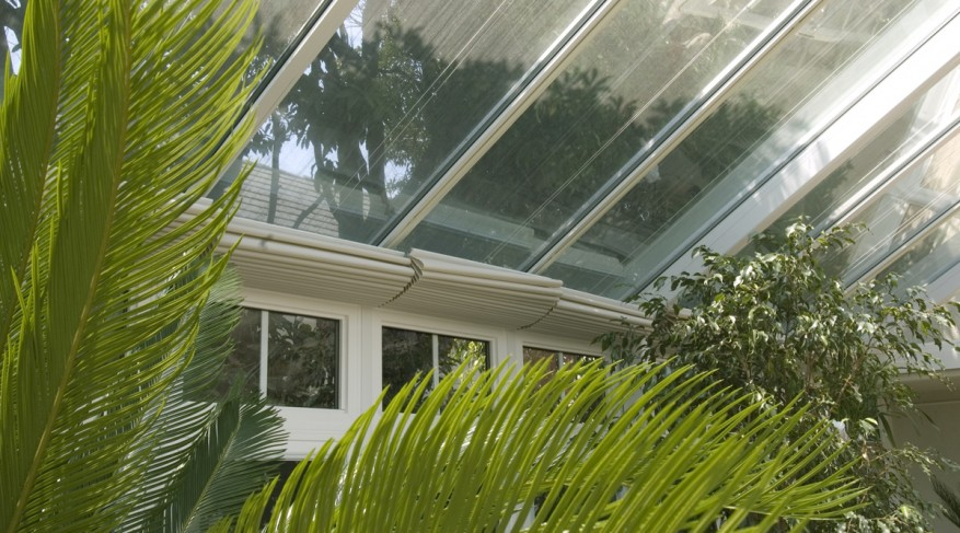 poolhouse conservatory shades