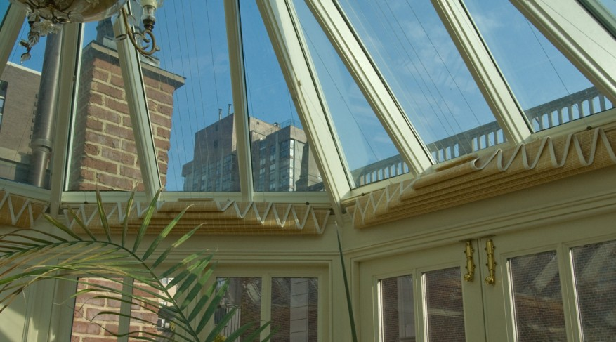open conservatory shades