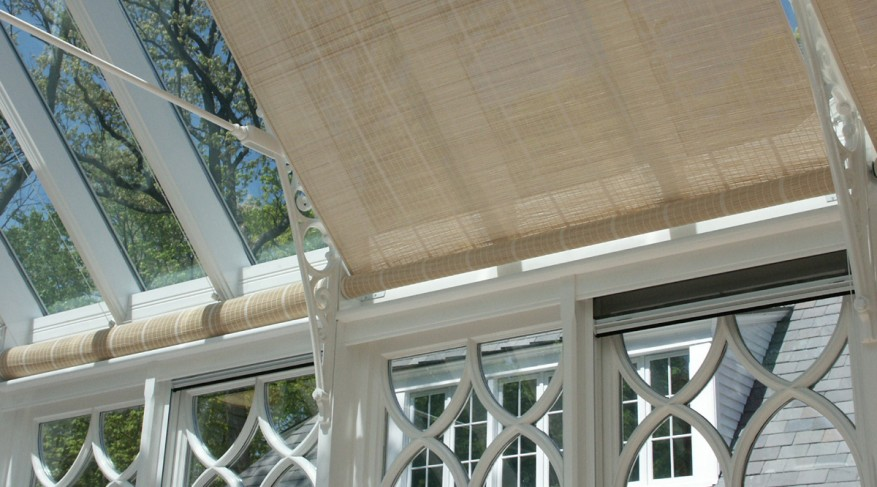roller conservatory shades