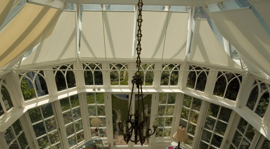 screen conservatory shades