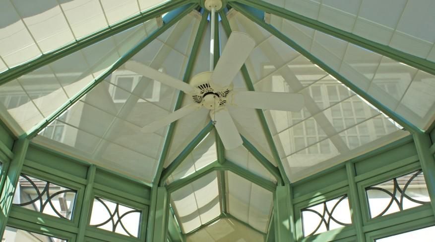 translucent conservatory shades