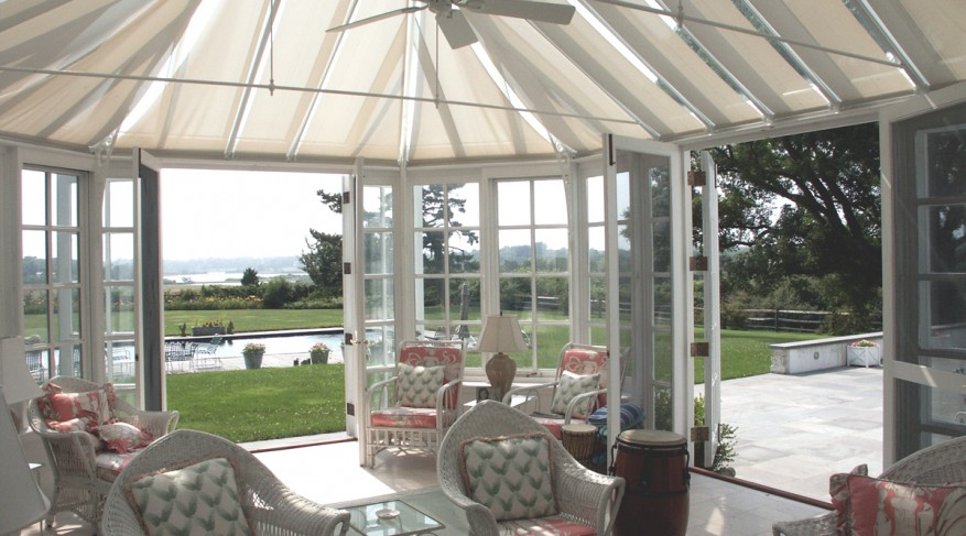 roller mount conservatory shades