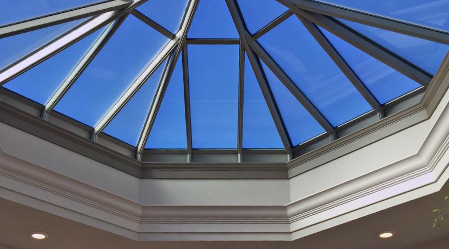 octagonal skylight molding
