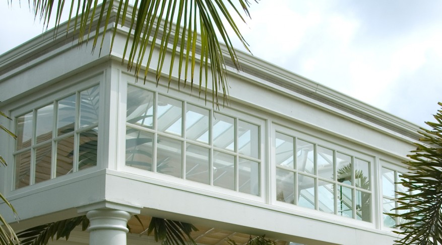 conservatory window detail