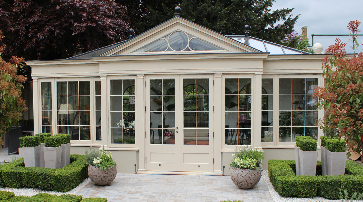 orangery with feature gable