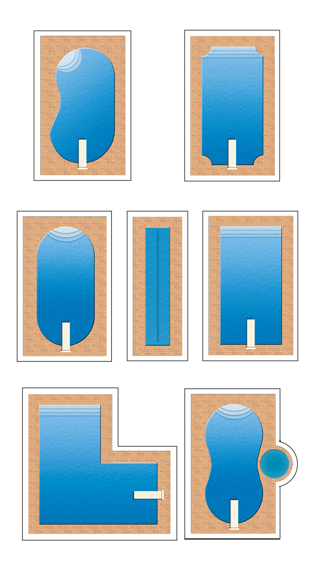 pool shapes