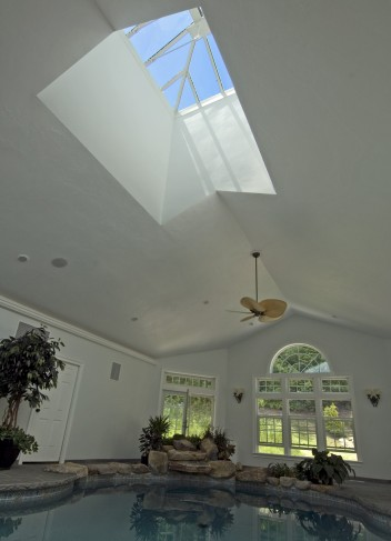 pool house skylight