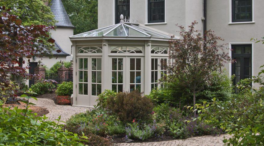 radial glazing pattern conservatory