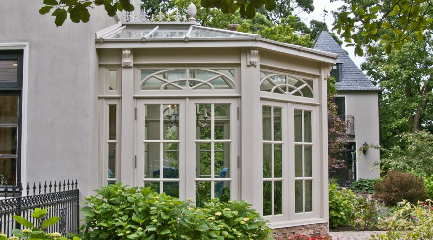 radial sdl glazing pattern