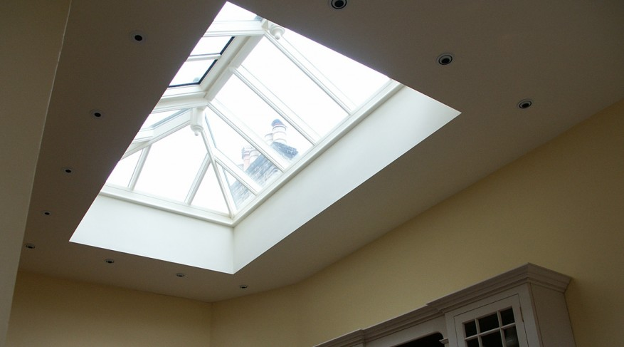 skylight with vent