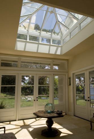 skylight foyer