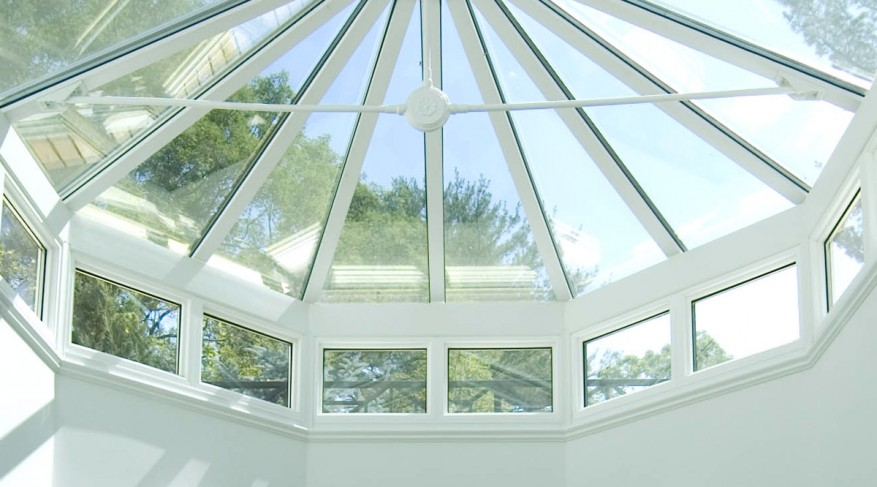 skylight with side frames