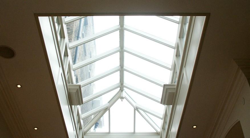 hardwood skylight
