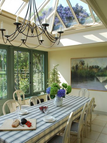dining roof lantern