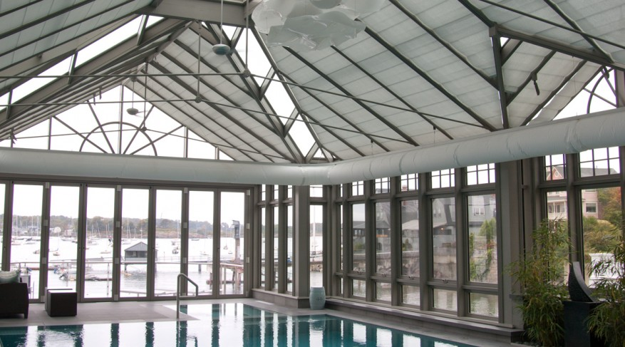 pool enclosure shades