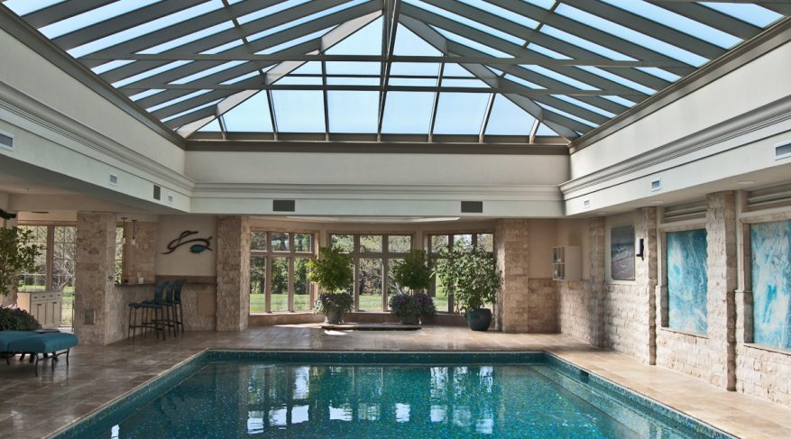 skylight pool enclosure