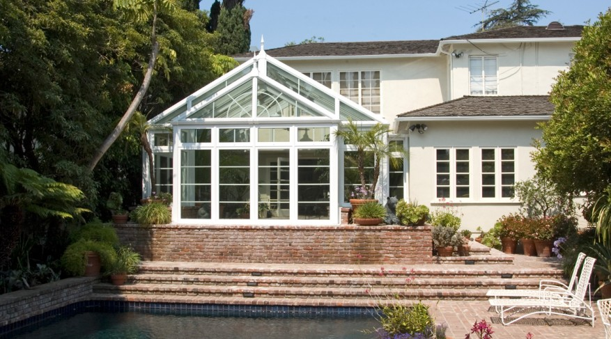 exterior pool conservatory