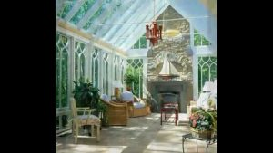 fireplace conservatory