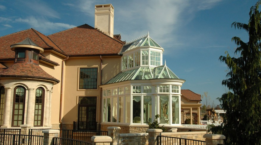 two story conservatory