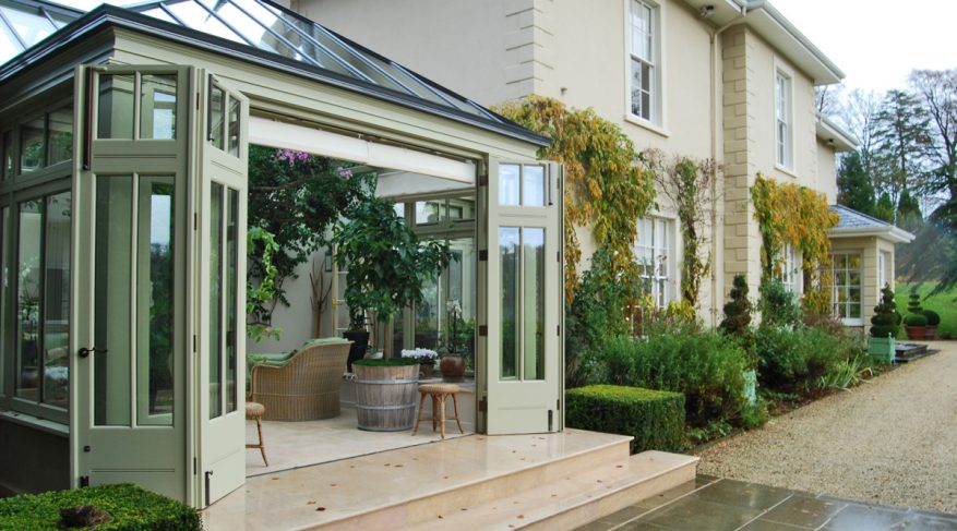 two tone conservatory