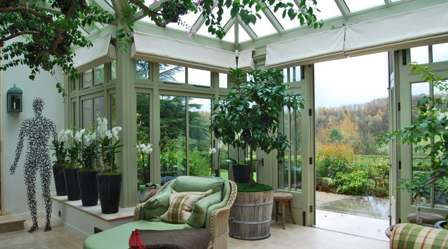 conservatory with a view