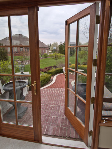 sapele conservatory door